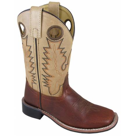 Smoky Mountain Jesse Boots - Youth - Brown/Tan