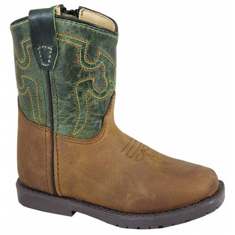 Smoky Mountain Autry Boots - Toddler - Brown/Dark Green