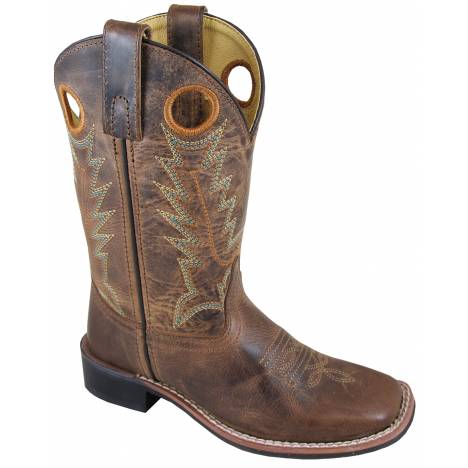 Smoky Mountain Jesse Boots - Children's - Brown/Brown
