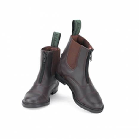 Millstone Kids Zip Up Synthetic Paddock Boots