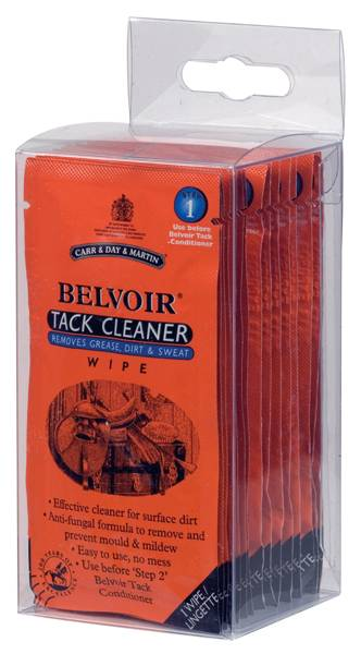 Belvoir Tack Cleaner Wipes by Carr & Day & Martin
