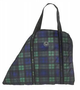 Centaur Classic Plaid Saddle Carry Bag