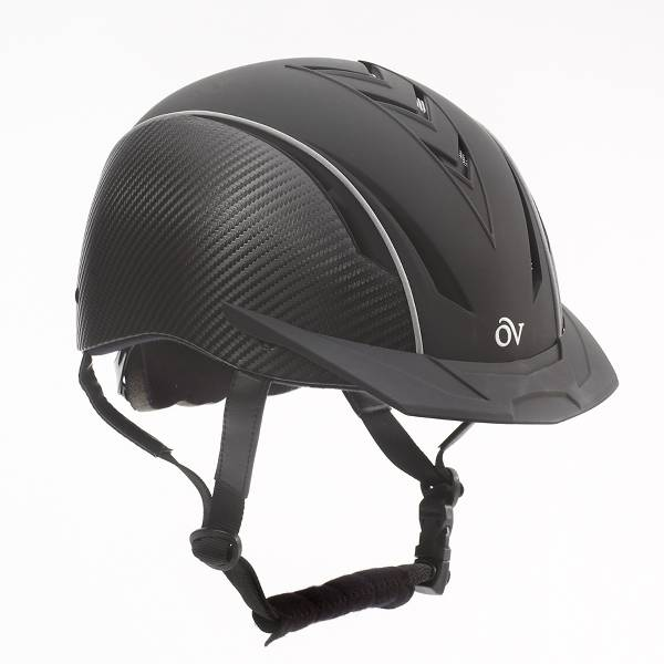 Ovation Sync with Carbon Fiber Riding Helmet
