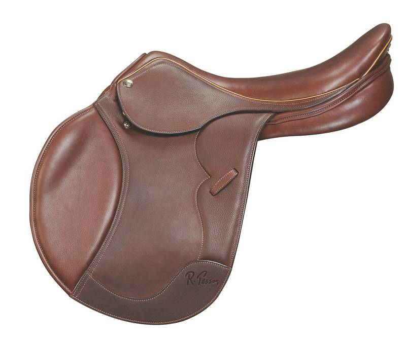 Outlet - Pessoa Gen X2 Saddle, 17.5'' Medium Forward, Oakbark