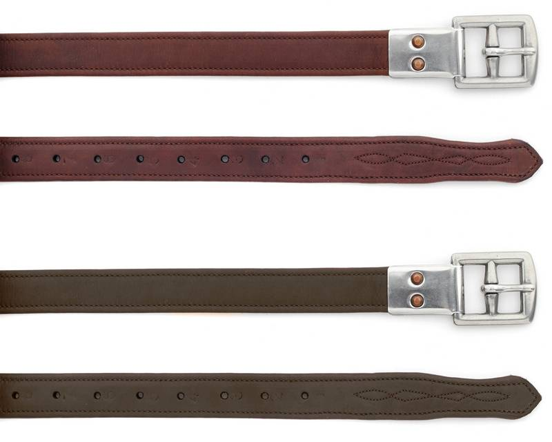 Ovation Covered Leathers - Metal Clasp End
