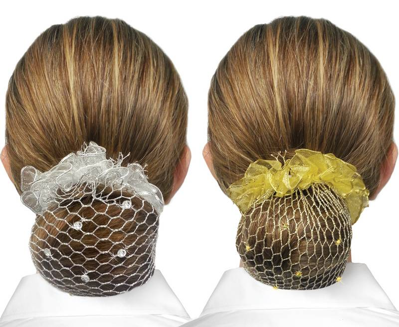 Showquest Swarovski Hair Bun Net