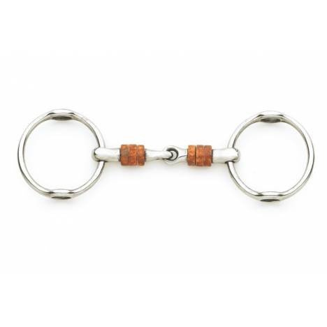 Centaur Stainless Steel Gag with Large Copper Rollers