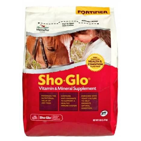 Manna Pro Sho-Glo Vitamin & Mineral Supplement - 5 lbs.