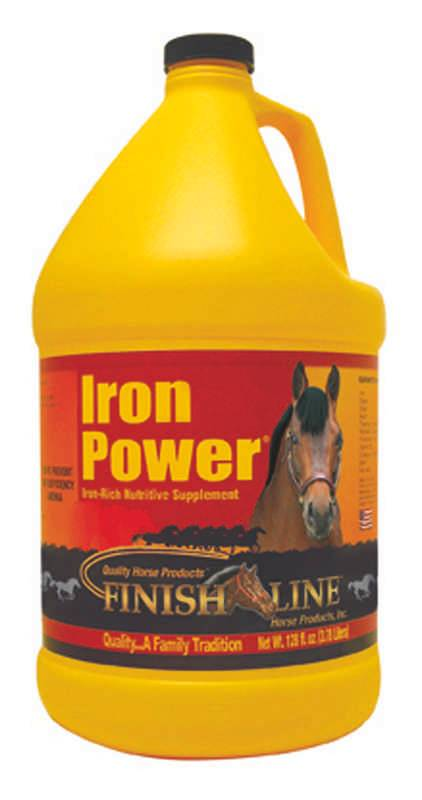Finish Line Iron Power Liquid Horse Supplement