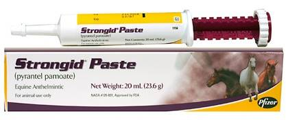 Pfizer Health Strongid Paste Horse Dewormer