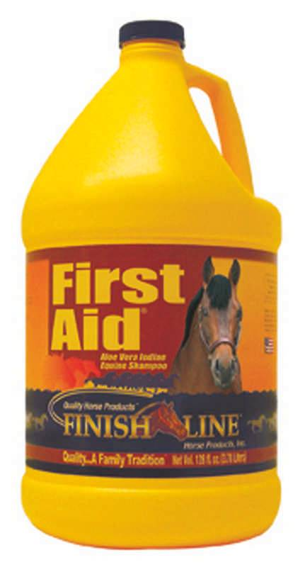 Finish Line First Aid Medicated Shampoo