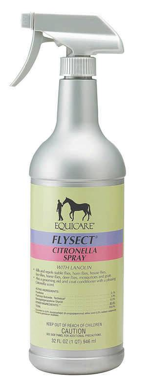 Equicare Flysect Citronella Fly Spray