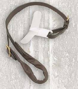 Camelot Leather Strapgoods Pony Crupper with Block