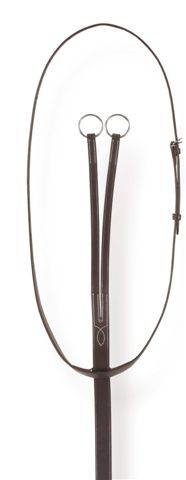 Ovation English Leather Flat Running Martingale
