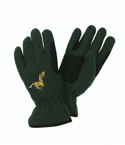 Outlet - Equi-Star Childs Pony Fleece Glove, Medium, Thistle