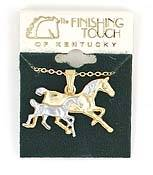 Finishing Touch Necklace with Mare n Foal