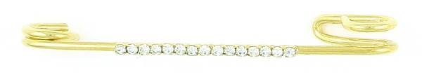 Finishing Touch Rhinestone Strip Stock Pin - Crystal