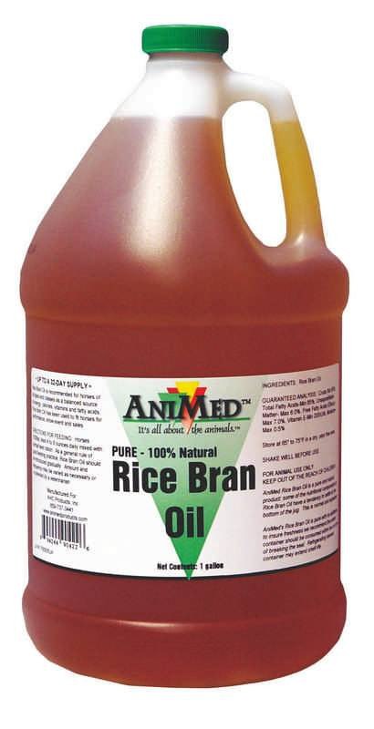 Rice Bran Oil Supplement