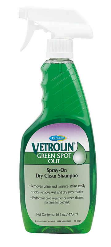 Equicare Vetrolin Green Spot Out