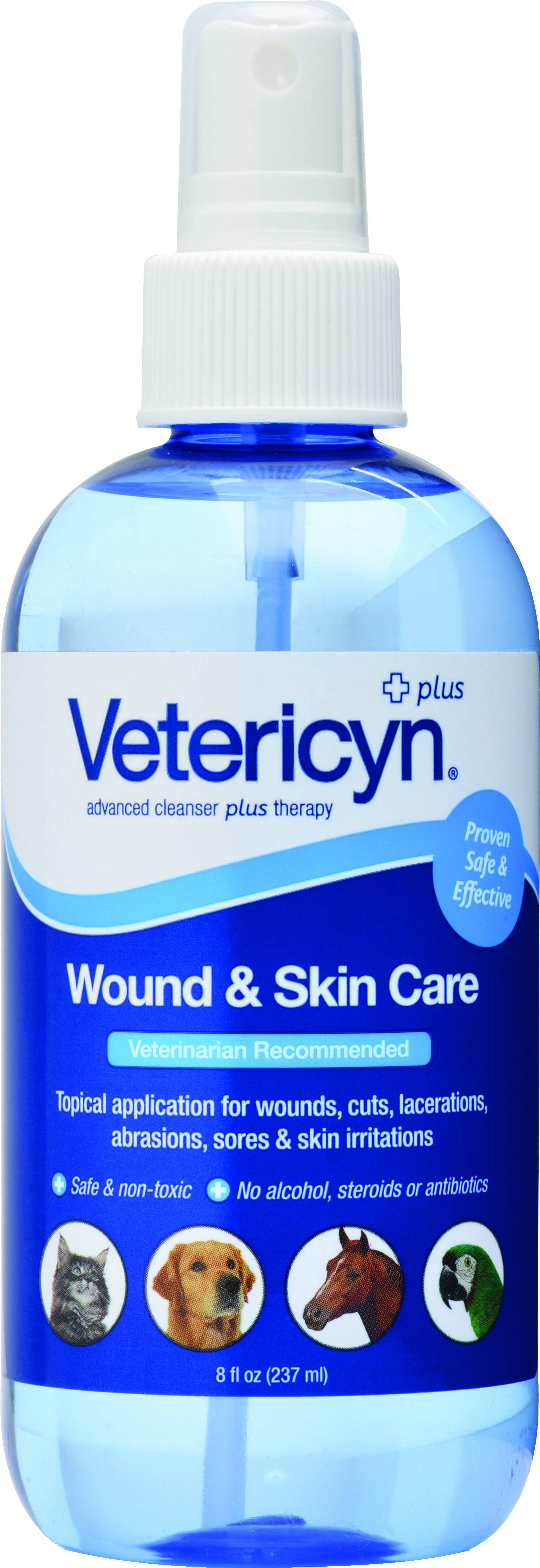 Vetericyn Wound Pump - 8oz.