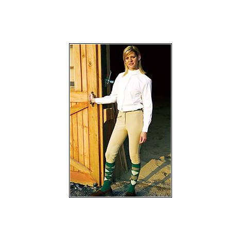 TuffRider Ribb Knee Patch Riding Breeches - Ladies