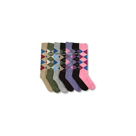 Tuffrider Argyle Socks - Ladies
