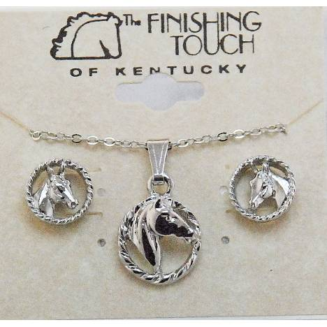 Finishing Touch Horse Head in Rope Gift Set