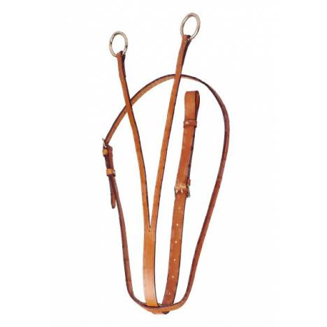TORY LEATHER Bridle Leather Running Martingale