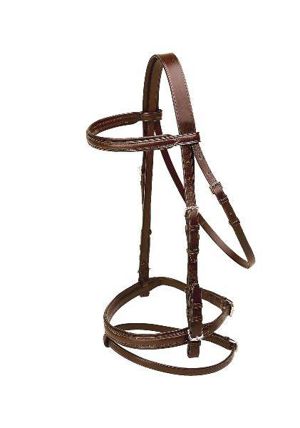 TORY LEATHER Deluxe Dressage Padded Headstall
