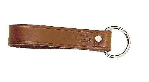 TORY LEATHER 1'' Girth Loop - Nickel Dee