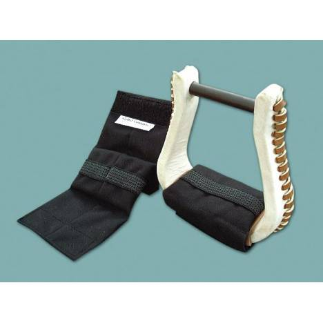 CASHEL Western Stirrup Cushions with Grip Strip