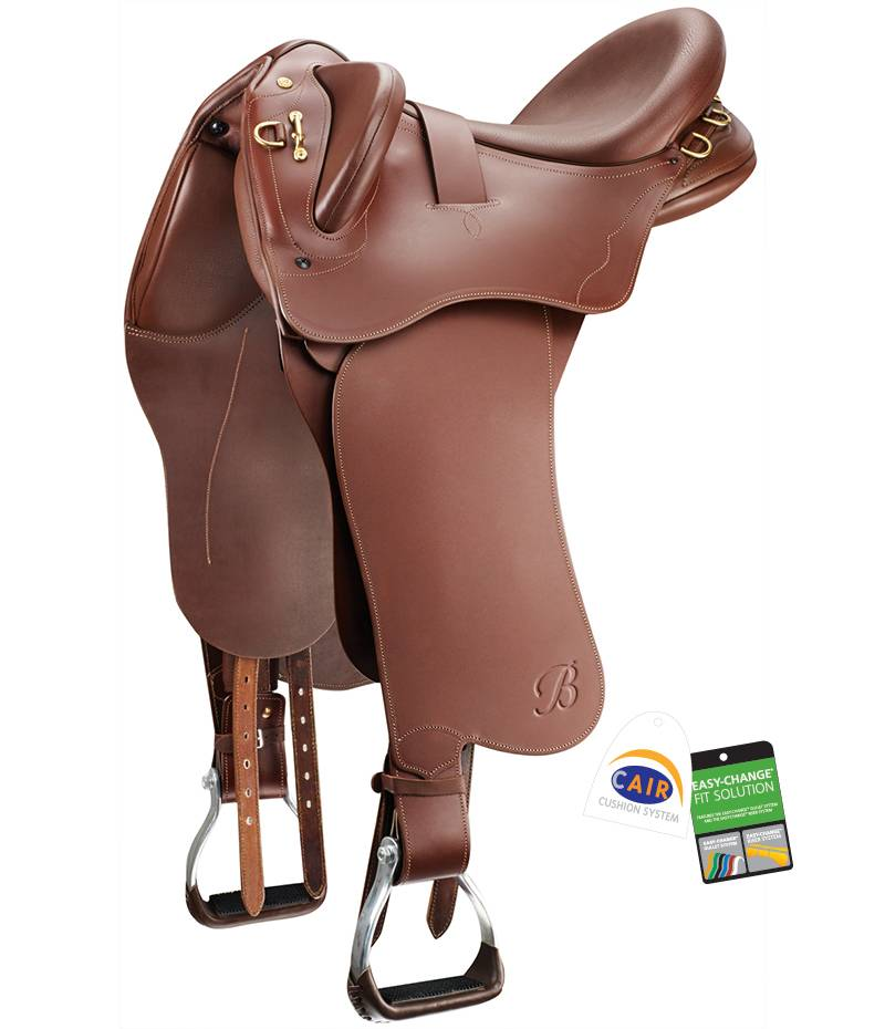 Bates Kimberly Outback Saddle with Swinging Fender