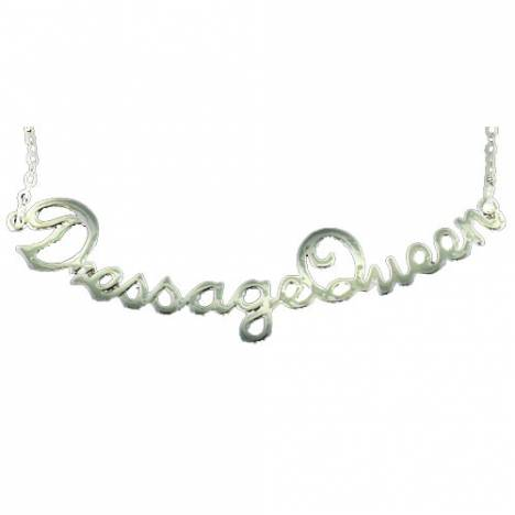 Exselle Dressage Queen Necklace - Gold Plate