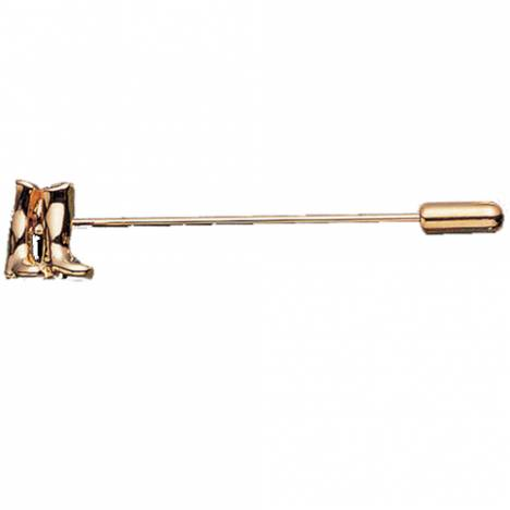 Exselle Boots Stick Pin - Gold Plate