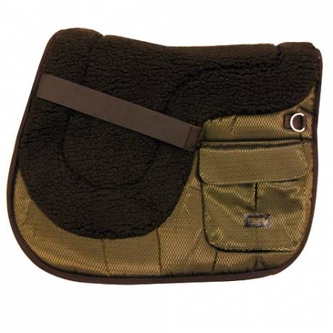 Iridescent Comfort Plus Pocket Saddle Pad