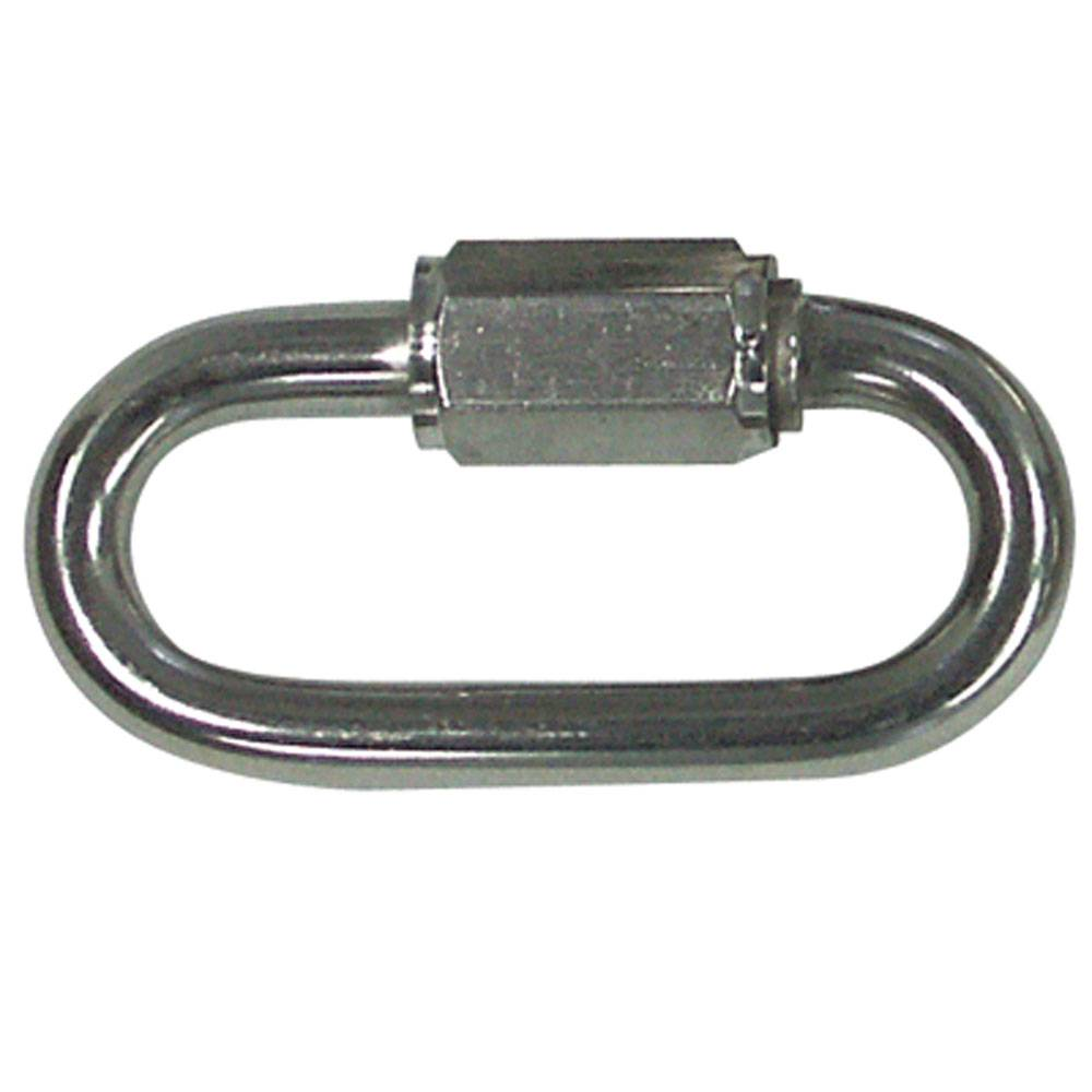 Zinc Plated Quick Link 5/16 - 10 Per Bag