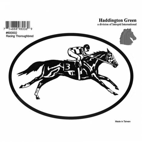 Decal - Racehorse - Pack Of 6