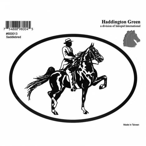 Decal - Saddlebred - Pack Of 6