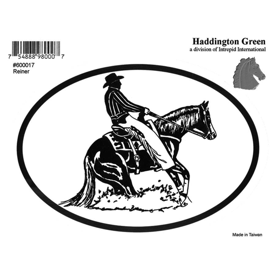 Decal - Reining Horse - Pack Of 6