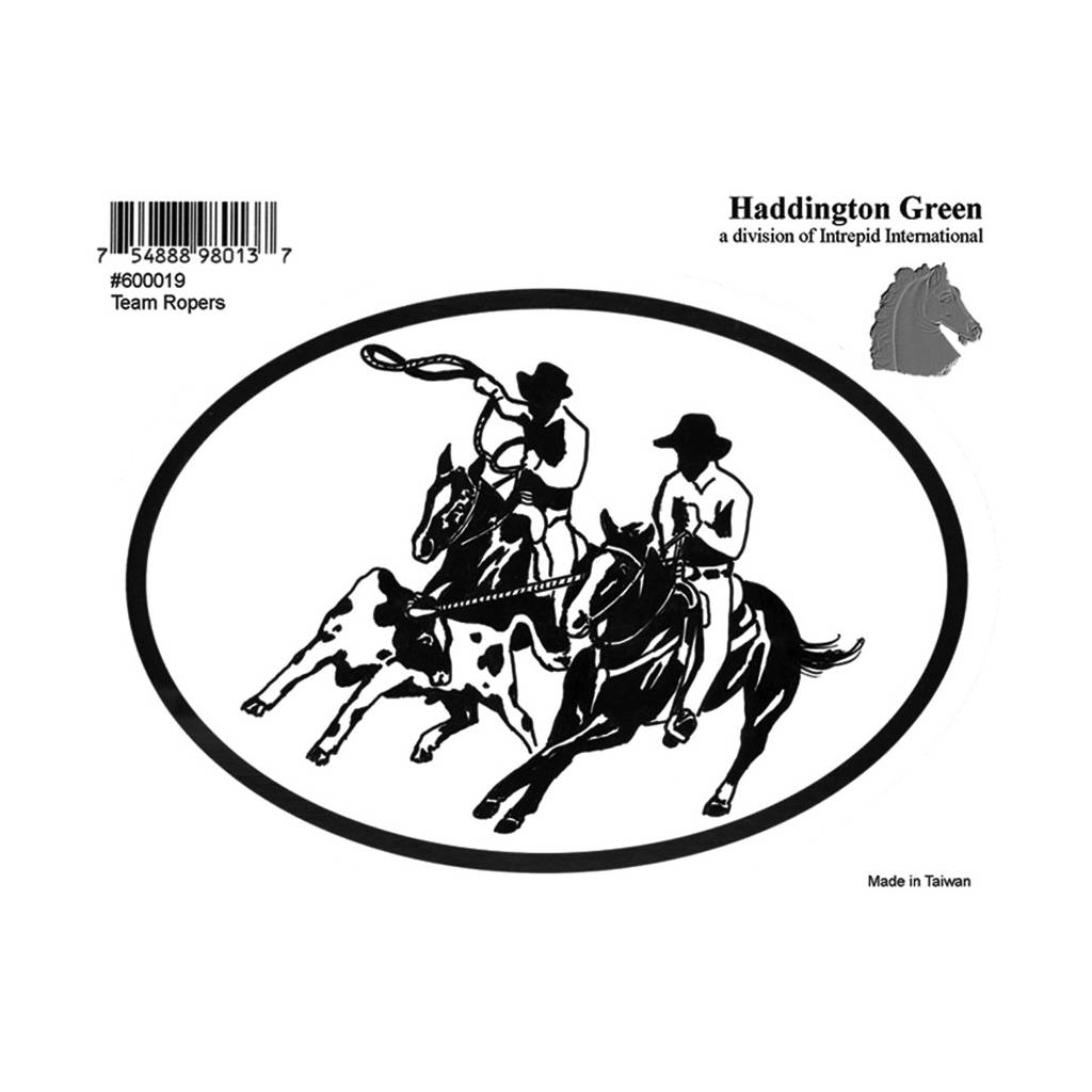 Decal - Team Roping - Pack Of 6