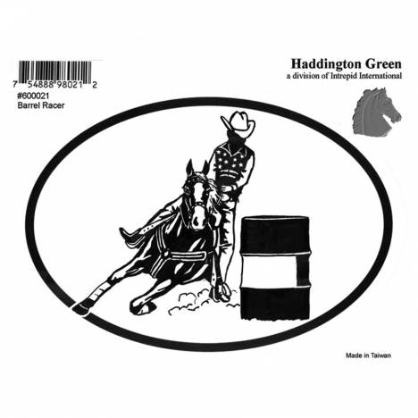 Decal - Barrel Racing - Pack Of 6