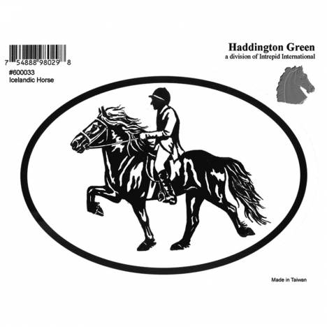 Decal - Icelandic Horse - Pack Of 6