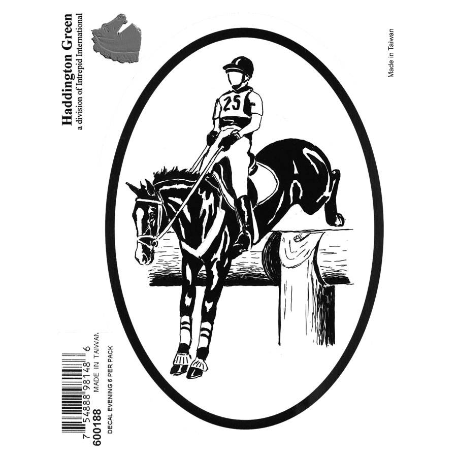 Decal - Event Rider - Pack Of 6