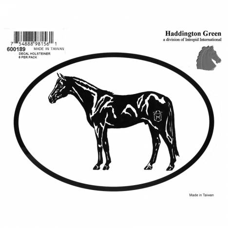 Decal - Holsteiner - Pack Of 6