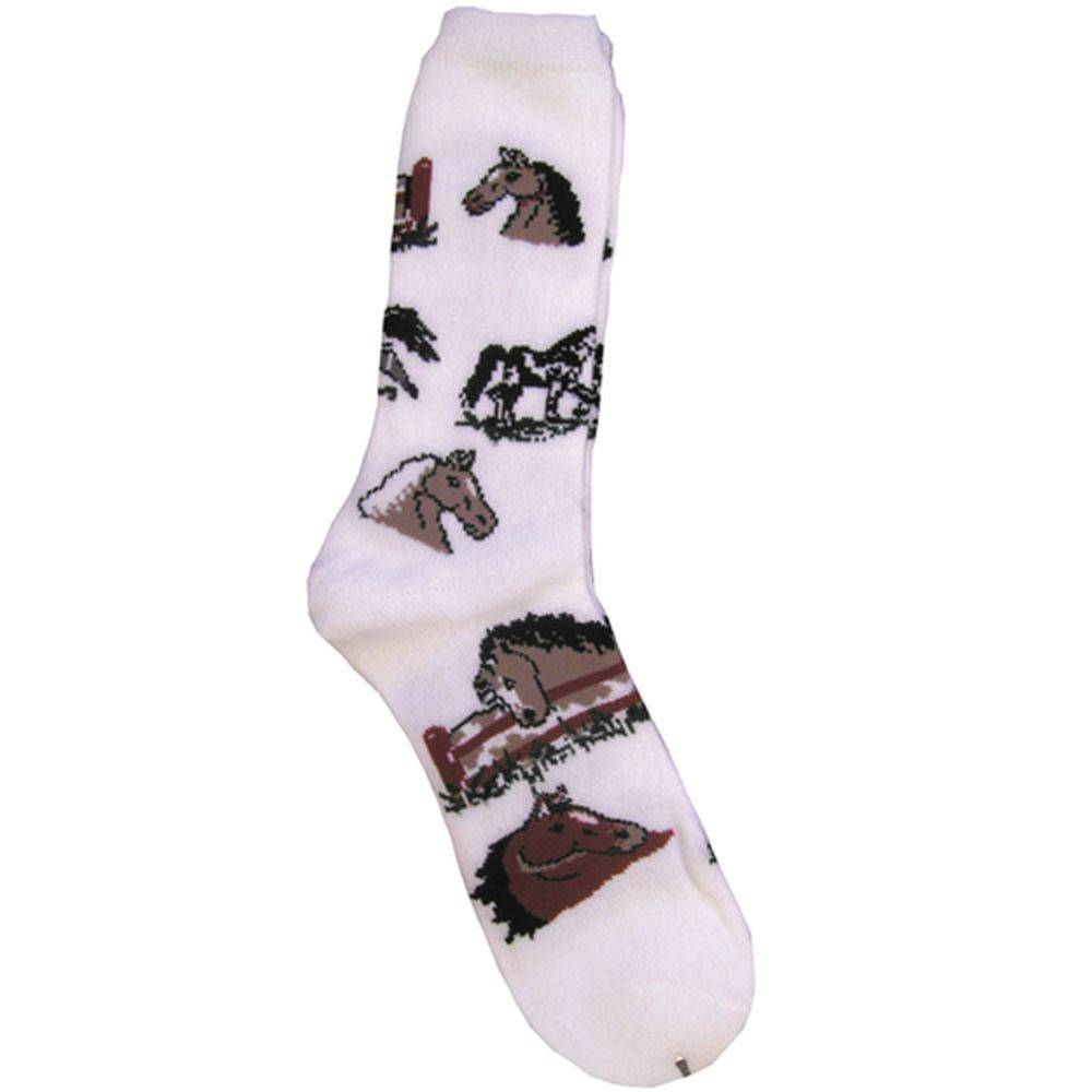 Horse Pattern Sock - Kids
