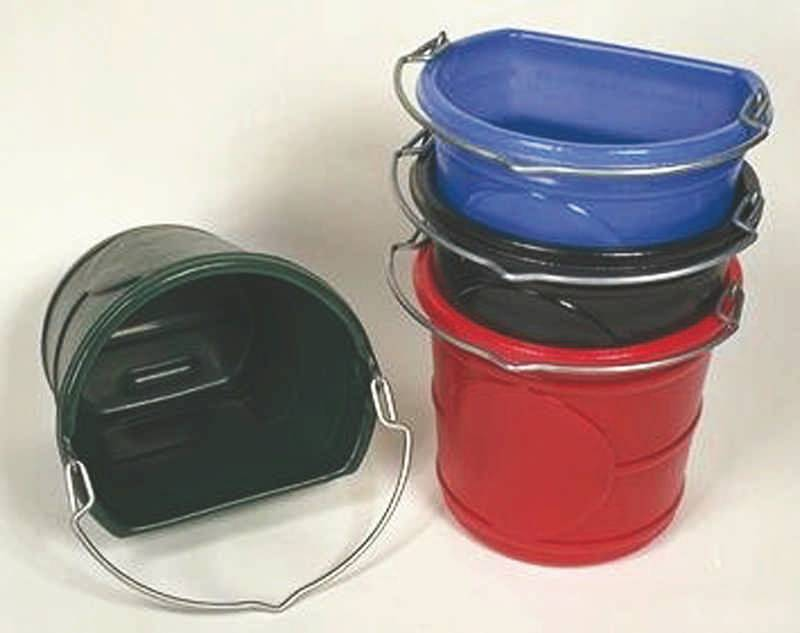 Flat Back Water Bucket