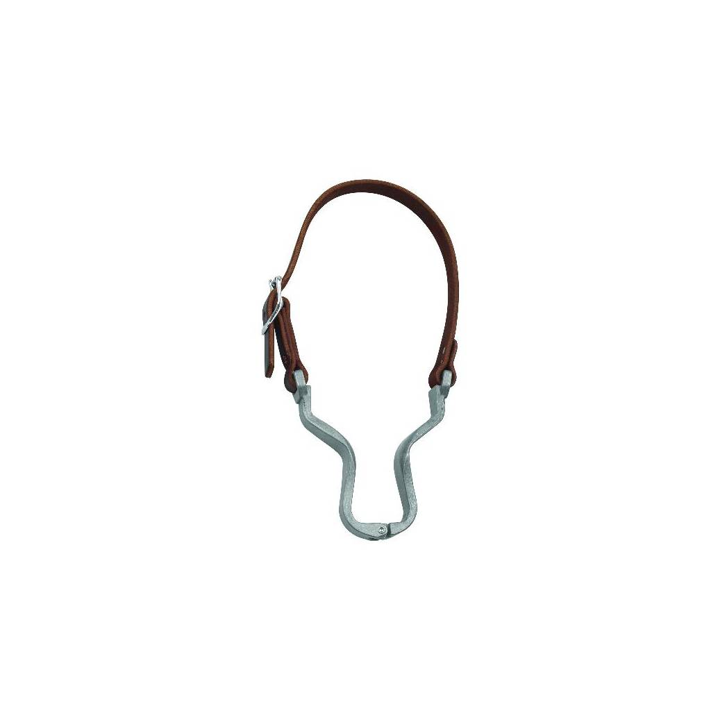 Perris Leather Collection Leather Nutcracker Cribbing Strap