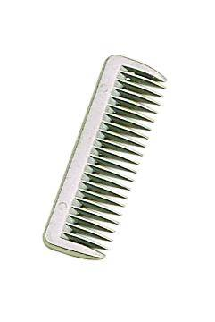 Perris Leather Aluminum Pulling Comb