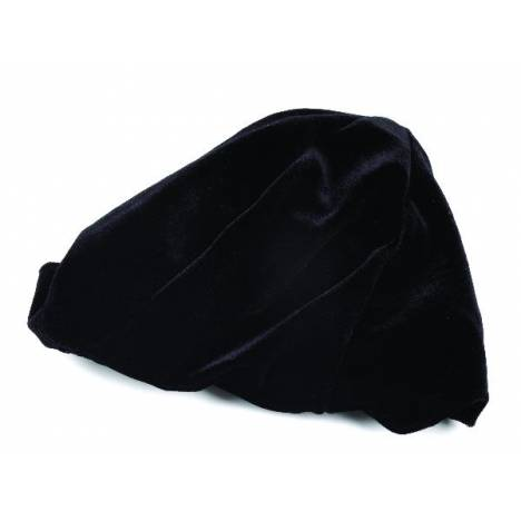 Perris Leather Black Velvet Helmet Cover