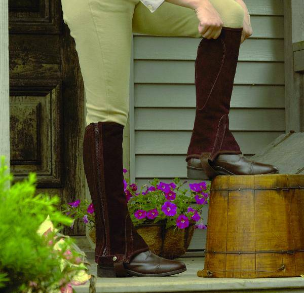 Perris Zipper Half Chaps - Adult